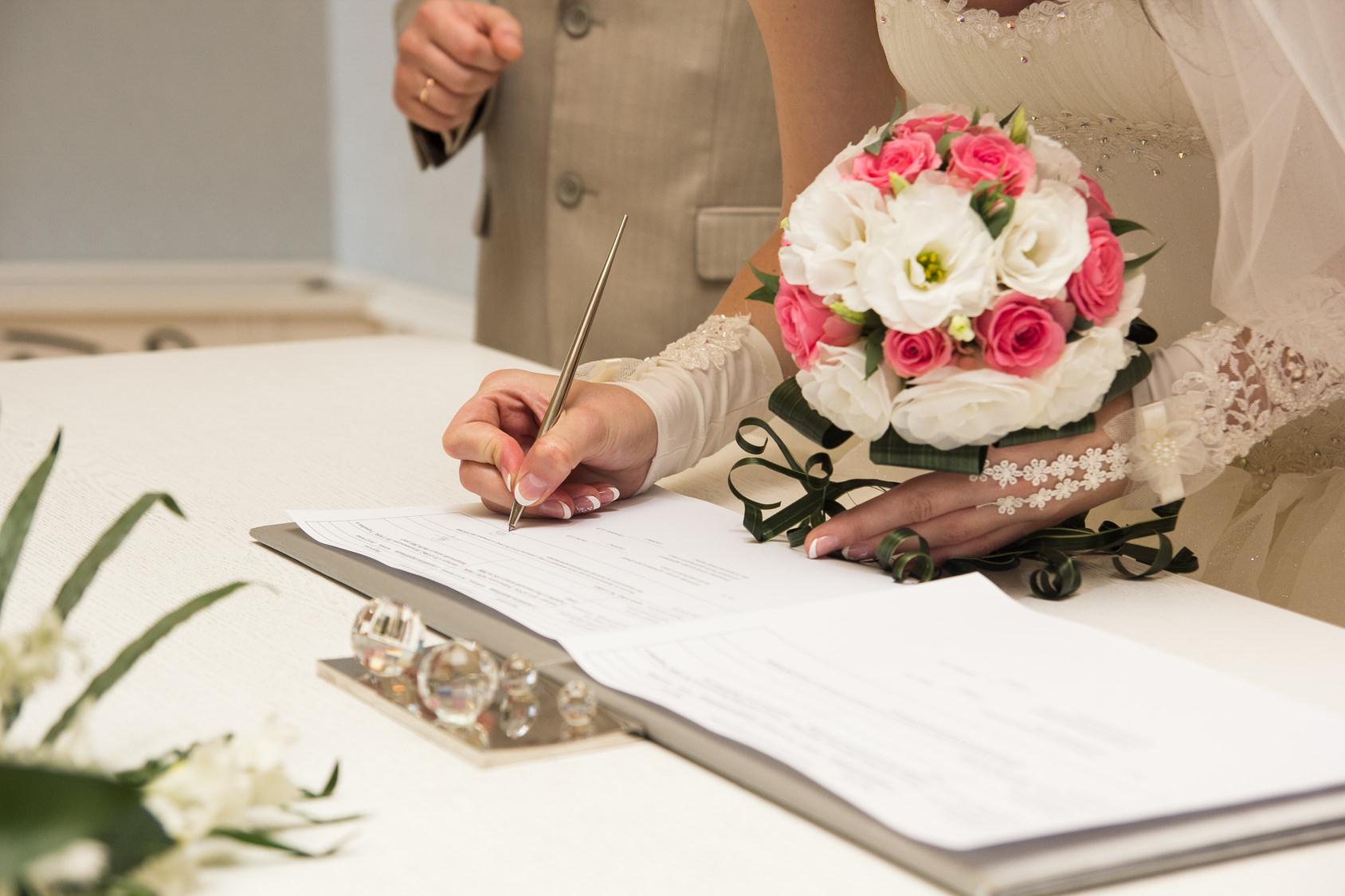 Вступление в брак: дополнительные формальности (фото: sergiophoto - Fotolia.com).