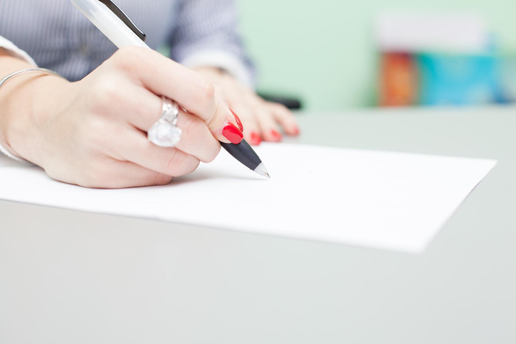 Пишем заявление на единовременное пособие правильно (фото: sneksy13 - Fotolia.com).